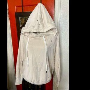 NSF Paint Splatter Pullover Hoodie